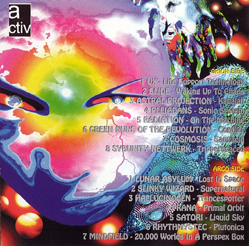 Various Artists - The Galaxy of Psi-Trance: Inside 4