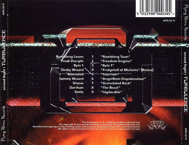Various Artists - Second Flight - Turbulence: Back