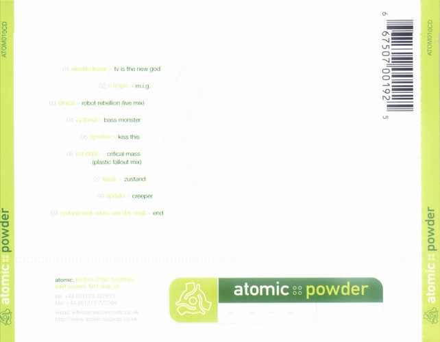 Various Artists - Atomic Powder: Back