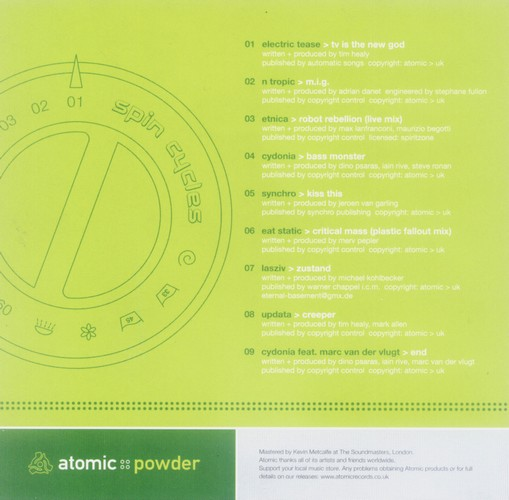 Various Artists - Atomic Powder: Inside 2