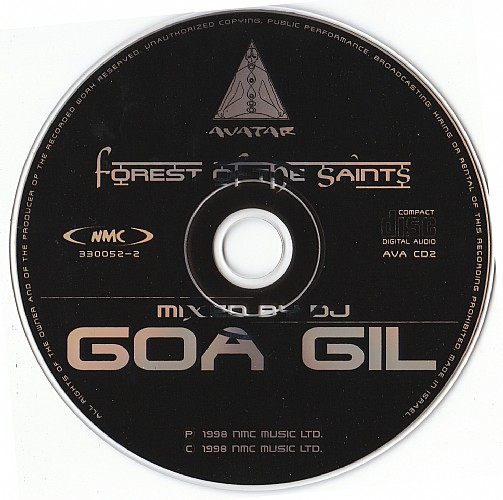 Various Artists - Forest Of The Saints mixed by Goa Gil: CD