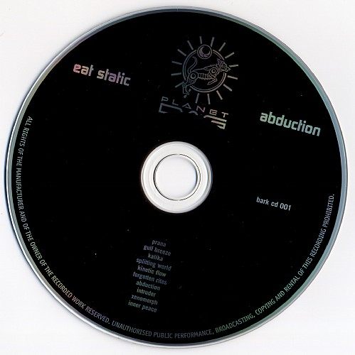 Eat Static - Abduction: CD