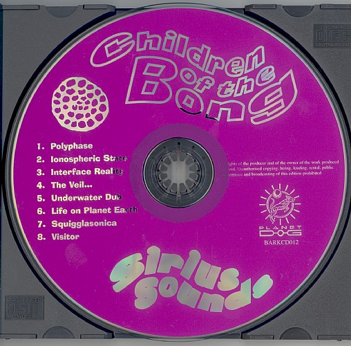 Children of the Bong - Sirius Sounds: CD