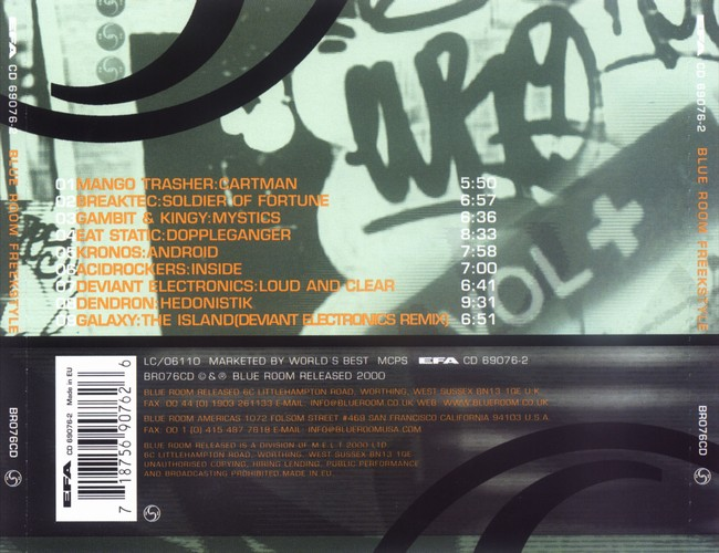 Various Artists - Freekstyle: Back