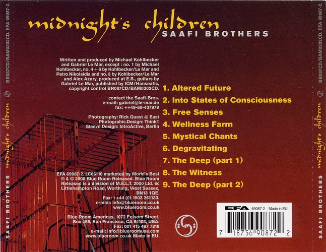 Saafi Brothers - Midnight's Children: Back