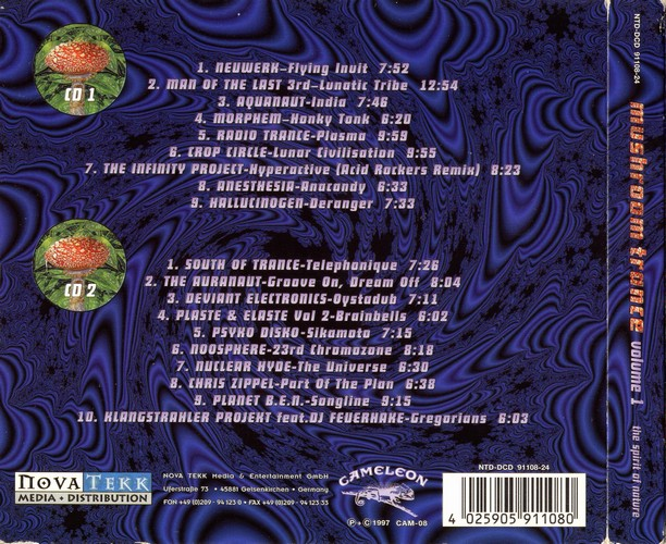 Various Artists - Mushroom Trance 1: Back