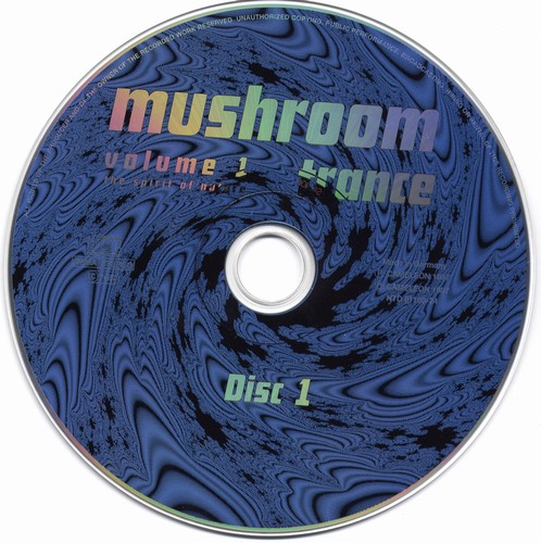 Various Artists - Mushroom Trance 1: CD