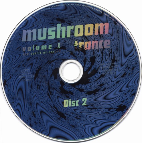 Various Artists - Mushroom Trance 1: CD 2
