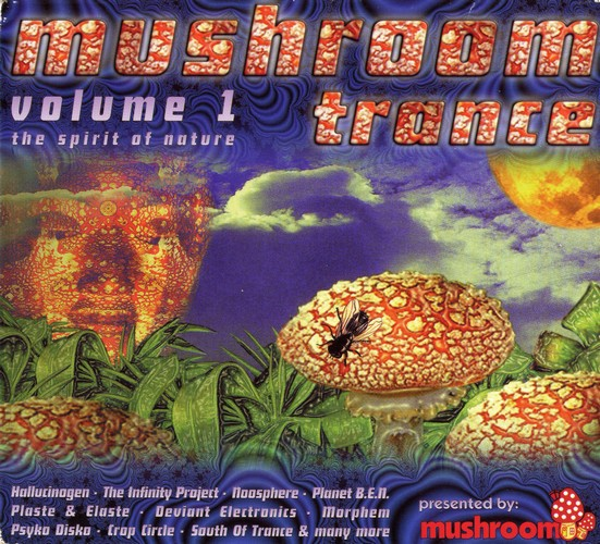Various Artists - Mushroom Trance 1: Front