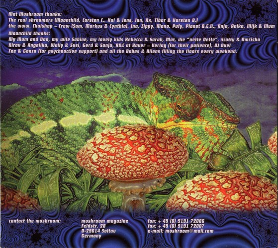 Various Artists - Mushroom Trance 1: Inside