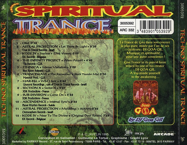 Various Artists - Spiritual Trance: Back