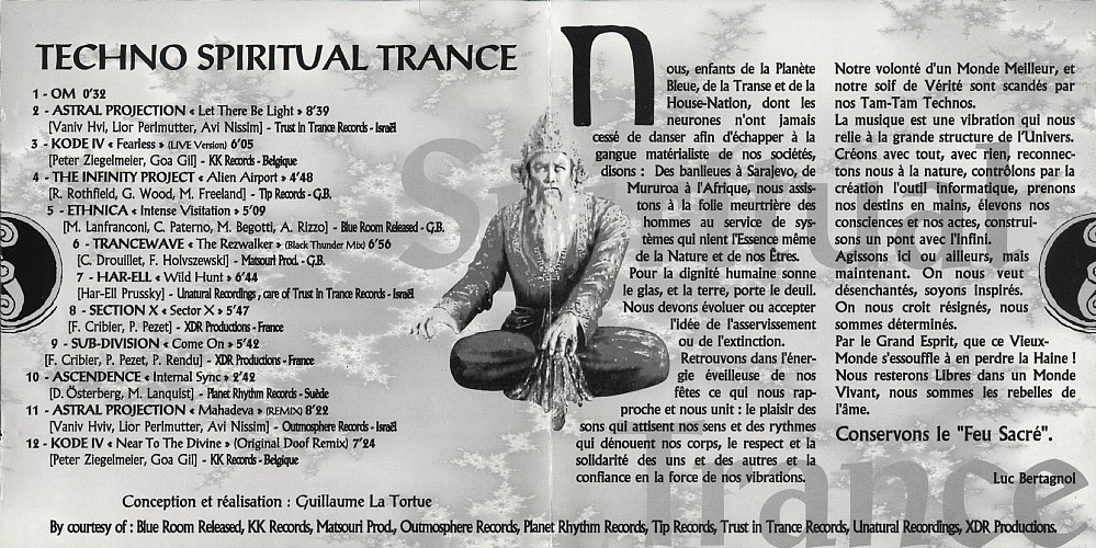 Various Artists - Spiritual Trance: Inside