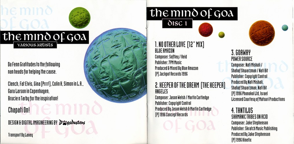 Various Artists - The Mind of Goa: Inside