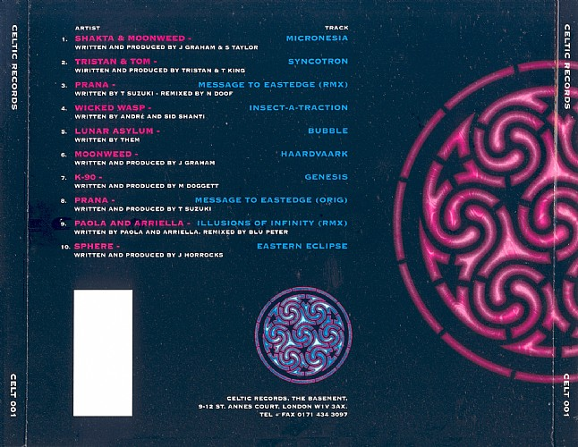 Various Artists - Celtic Records Compilation: Back
