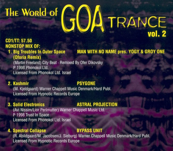 Various Artists - The World of Goa Trance 2: Inside