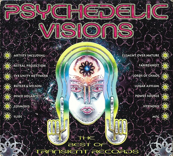 Various Artists - Psychedelic Visions - The Best of Transient Records: Front
