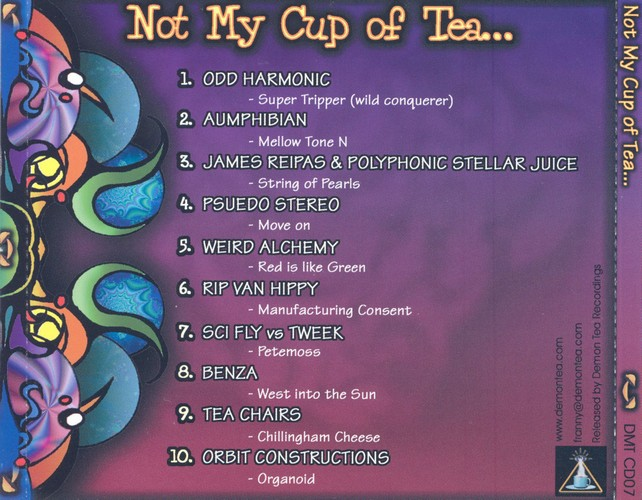 Various Artists - Not My Cup of Tea..: Back