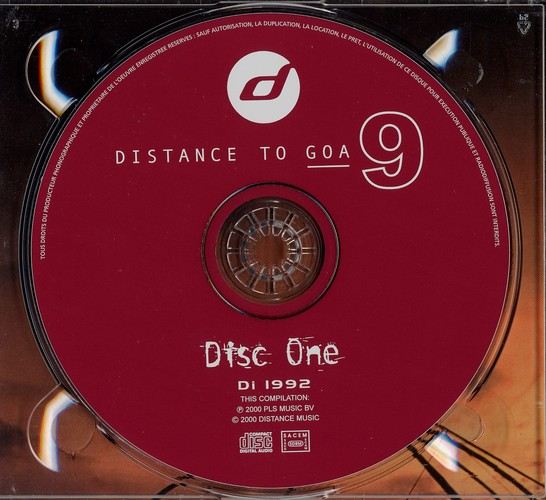 Various Artists - Distance to Goa 9: CD