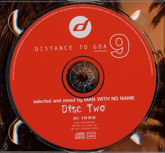 Various Artists - Distance to Goa 9: CD 2