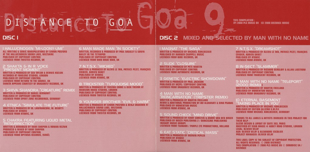 Various Artists - Distance to Goa 9: Extra 2