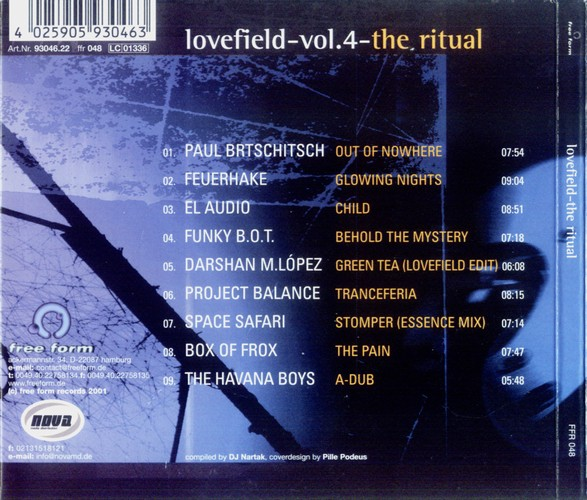 Various Artists - Lovefield 4 - The Ritual: Back