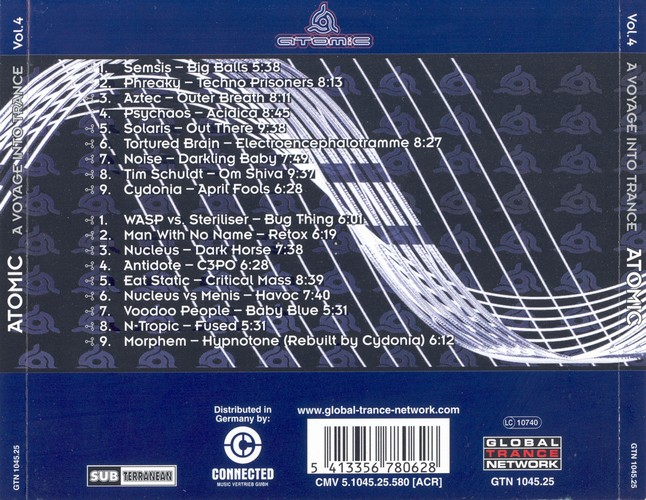 Various Artists - A Voyage Into Trance 4: Back