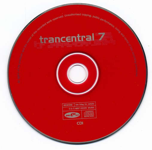 Various Artists - Trancentral 7: CD
