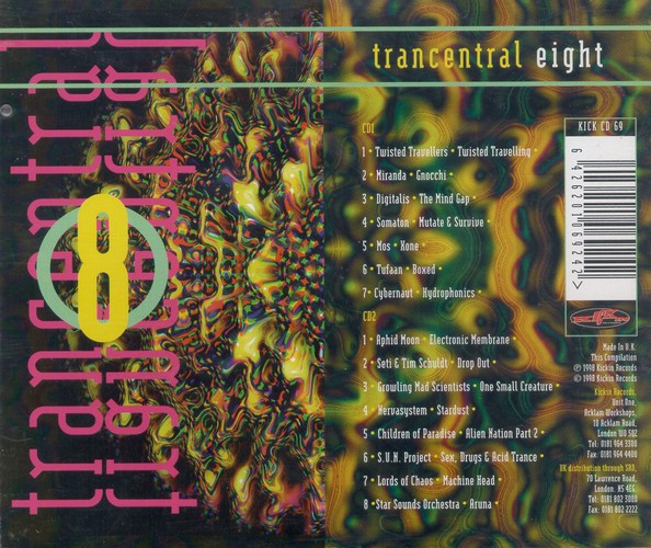 Various Artists - Trancentral 8: Back