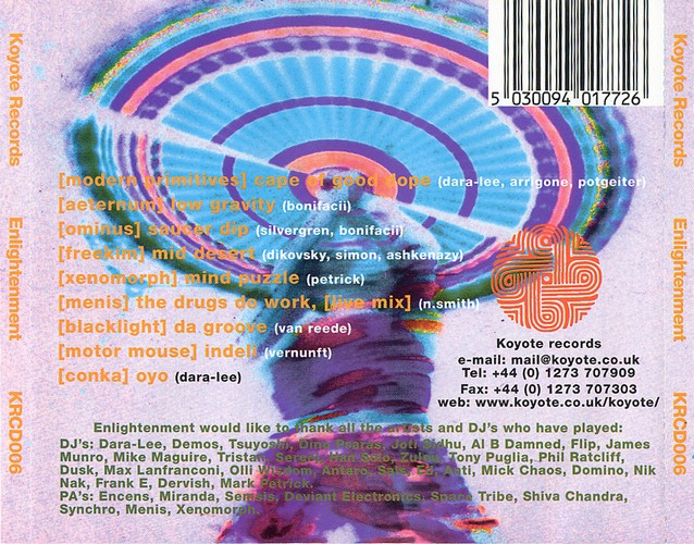 Various Artists - Enlightenment: Back