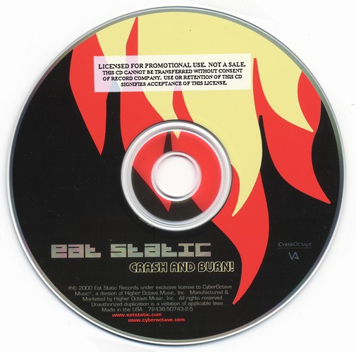 Eat Static - Crash and burn!: CD