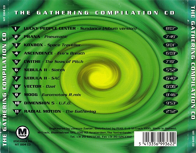 Various Artists - The Gathering: Back