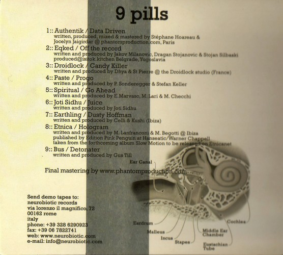 Various Artists - 9 Pills: Inside