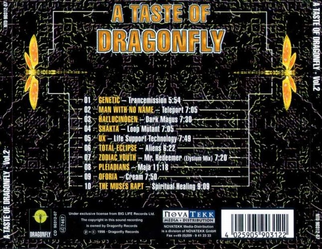 Various Artists - A Taste of Dragonfly 2: Back