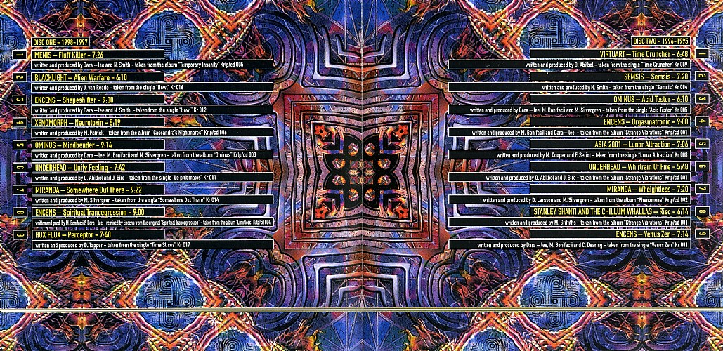 Various Artists - Psychedelic Visions 3 - The best of Koyote Records: Inside