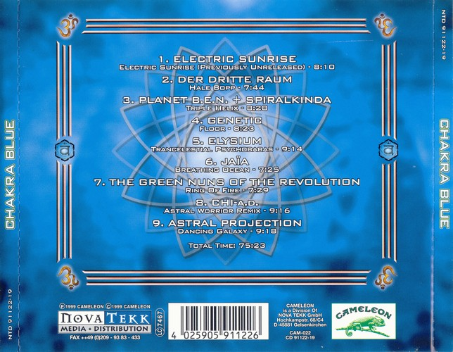 Various Artists - Chakra Blue: Back