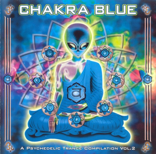 Various Artists - Chakra Blue: Front