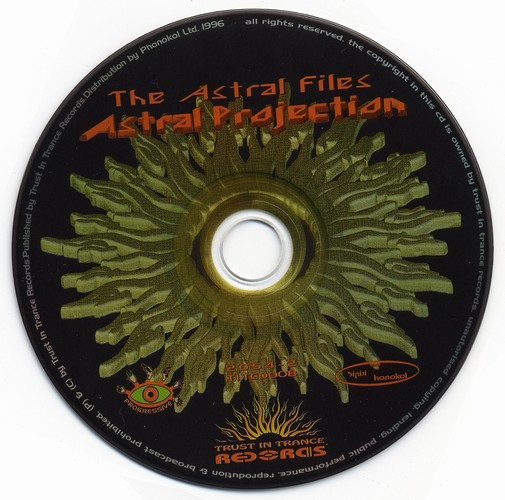 Astral Projection - The Astral Files: CD