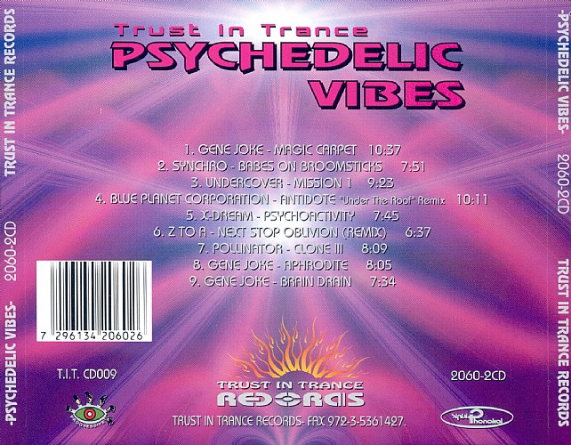 Various Artists - Psychedelic Vibes 1: Back