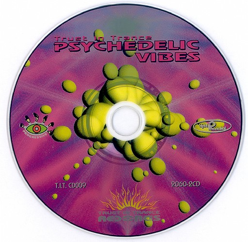 Various Artists - Psychedelic Vibes 1: CD