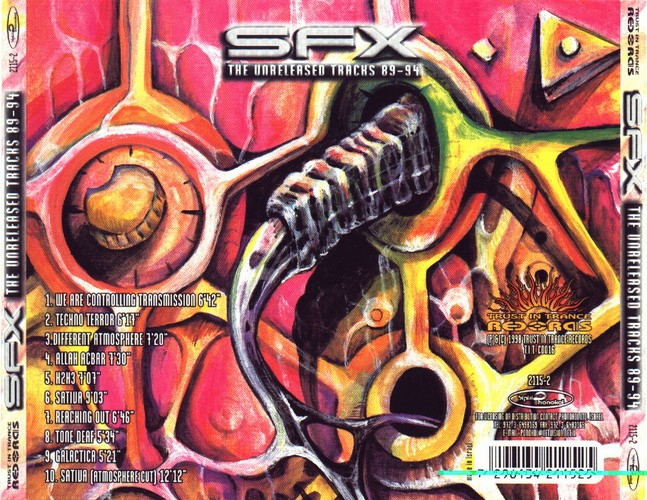 SFX - The Unreleased Tracks 89-94: Back