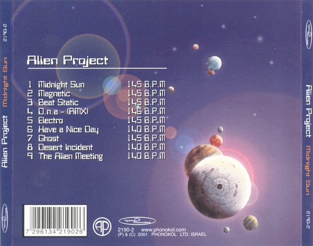 Alien Project - Midnight Sun: Back