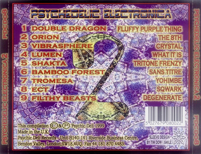 Various Artists - Psychedelic Electronica 2: Back