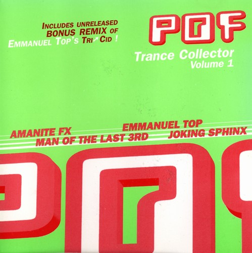 Various Artists - POF Trance Collector 1: Front