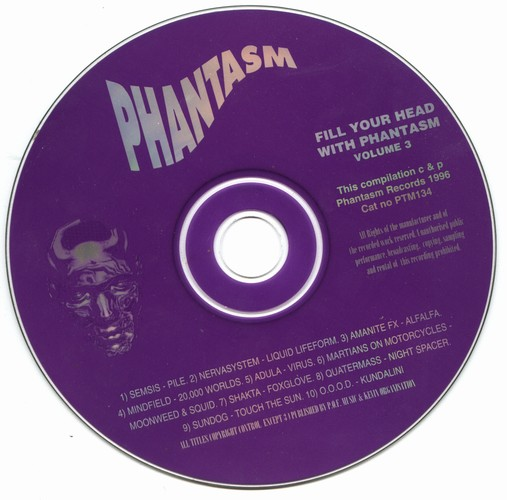 Various Artists - Fill Your Head With Phantasm 3: CD