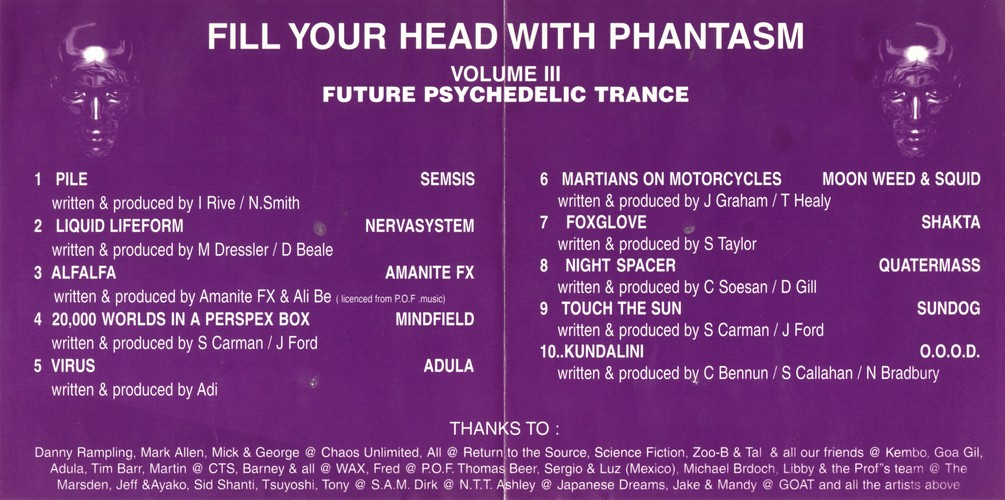Various Artists - Fill Your Head With Phantasm 3: Inside 2