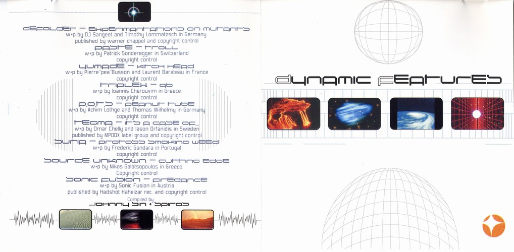 Various Artists - Dynamic Features: Inside