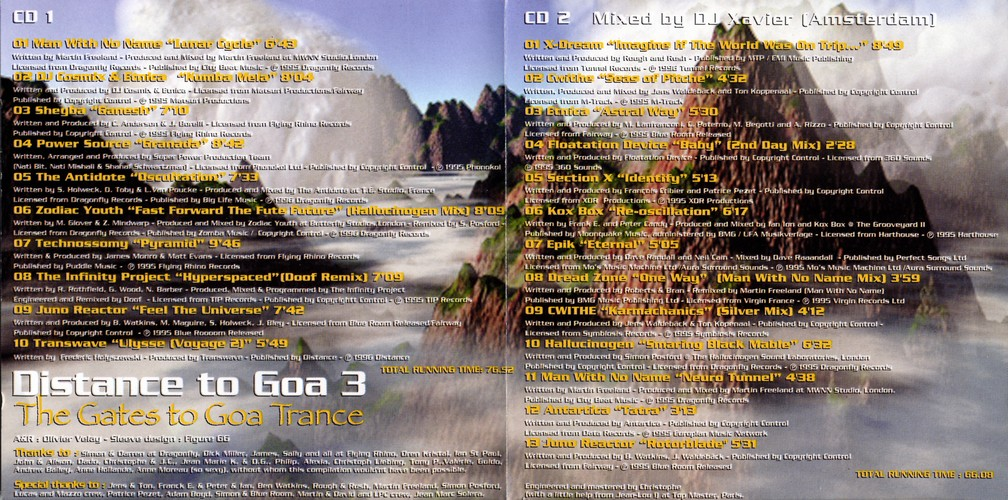 Various Artists - Distance to Goa 3: Inside