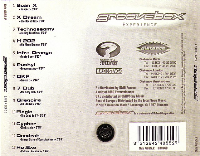 Various Artists - The Groovebox Experience: Back