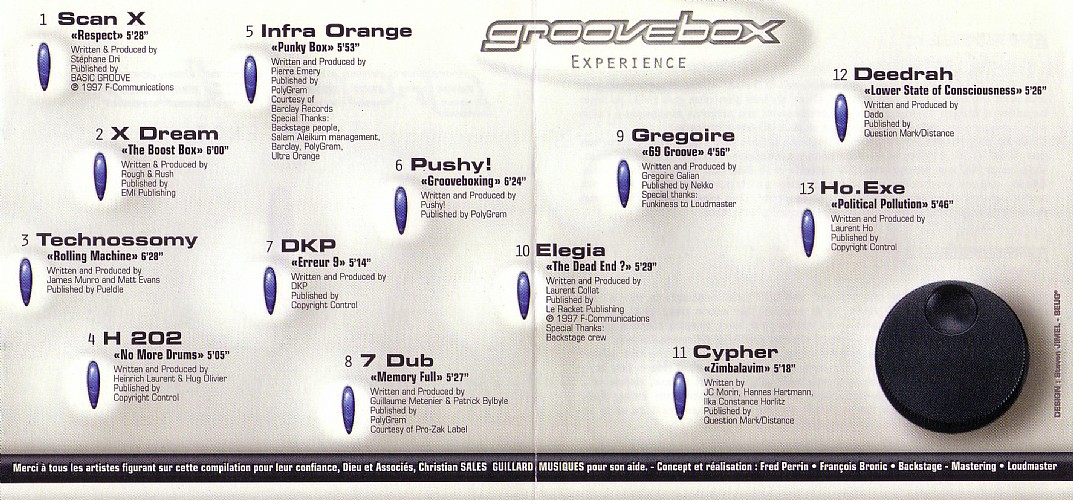 Various Artists - The Groovebox Experience: Inside