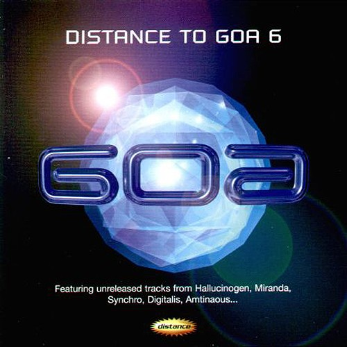 Various Artists - Distance to Goa 6: Front